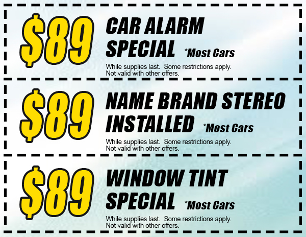Auto Glass Coupon Windshield Repair Discount
