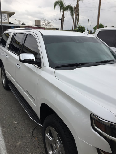 Car Stereo Alarm Window Tinting